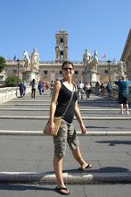 Photo: Teresa in Rome
