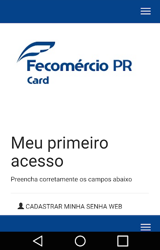 Fecomércio PR Card