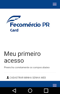 Fecomércio PR Card- screenshot thumbnail