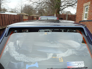 Photo: Renault 5 GT Turbo Raider Window Graphic