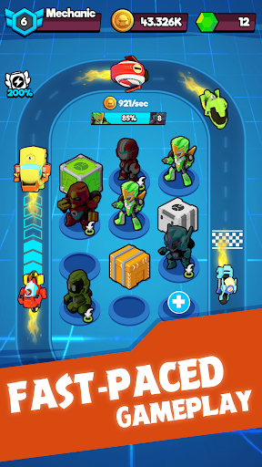 Merge Robots - Click & Idle Tycoon Games apkdebit screenshots 4