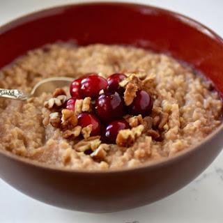 Creamy Morning Millet Porridge.