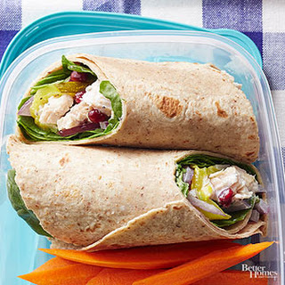 Sweet and Tangy Chicken Wrap Recipe