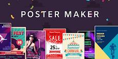 Poster Maker Flyer Maker 2020 free Ads Page Designのおすすめ画像1