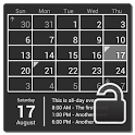 Calendar Widget (key) icon