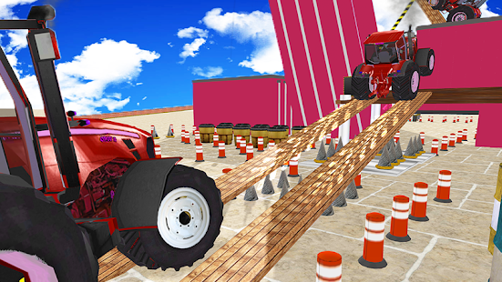 Tractor Parking sim 3d 2018-Tractor driving games - náhled