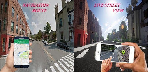 Street View Route Tracking Maps Direction for PC