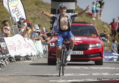 """Remco Evenepoel staat morgen aan de start van de Ronde van Polen: """"Wil iets moois doen voor Bjorg Lambrecht als ik kan winnen"""""""