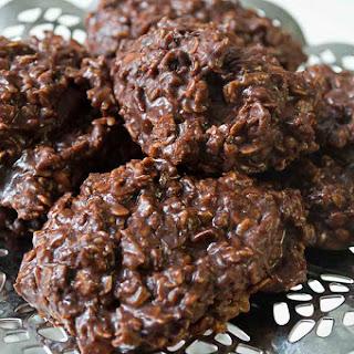 No Bake Chocolate Spider Cookies.