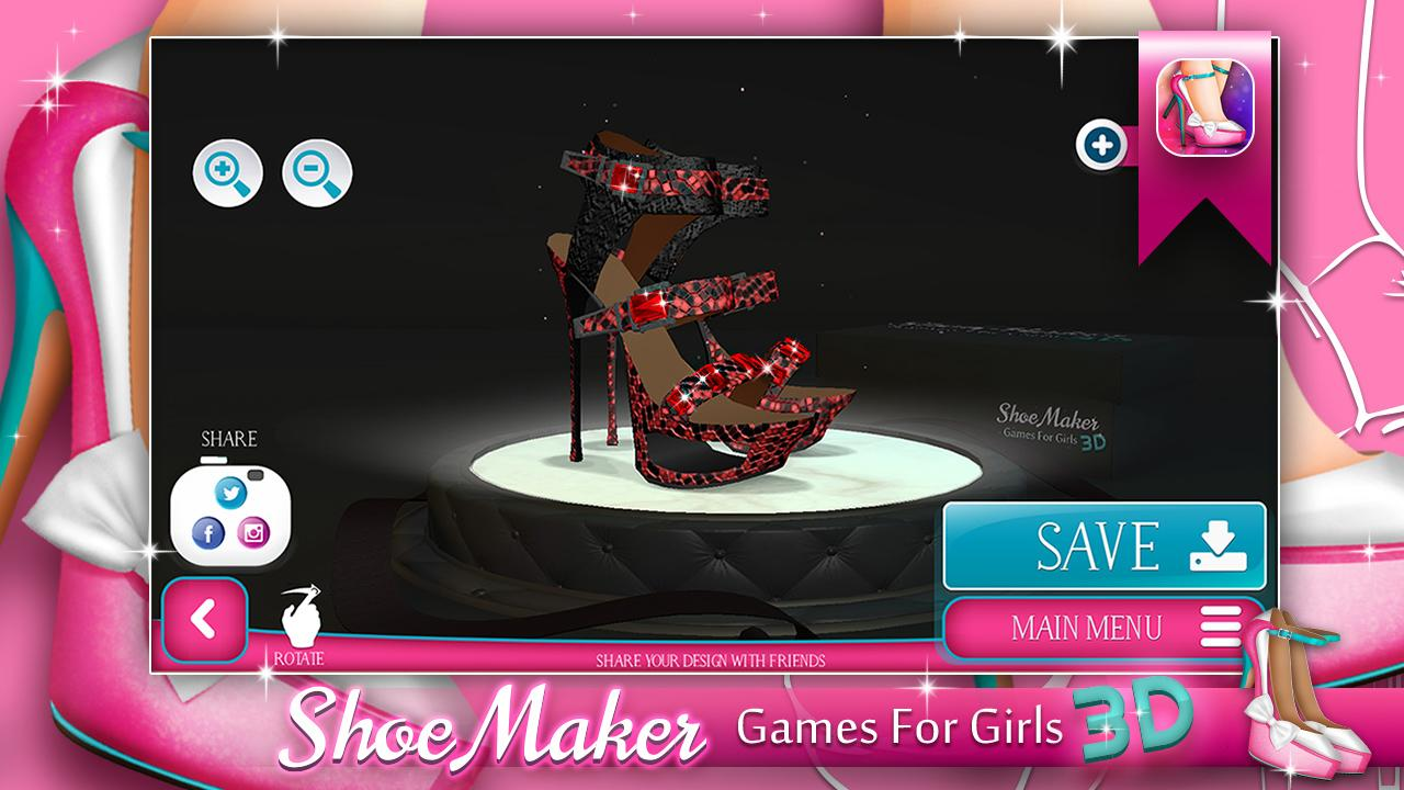 Shoes And Clothes Design Games For Free Shoe Maker Games for Girls D