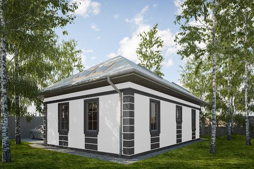 projekt G344 - Budynek rekreacji indywidualnej