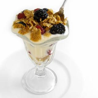 Fresh Berries and Yogurt Crunch Parfait