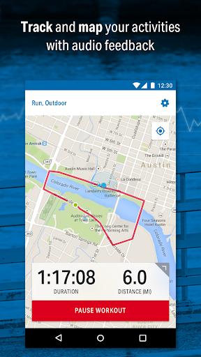 Run with Map My Run Screenshot