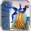 Police Robot Speedster: Cop Robot hero flash games 1.6