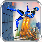 Police Robot Speed hero: Police Cop robot games 3D Icon