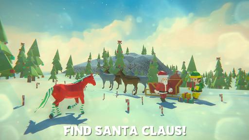 Einhorn Weihnachtssimulator Familie Frohes Neues Jahr Screenshots 1