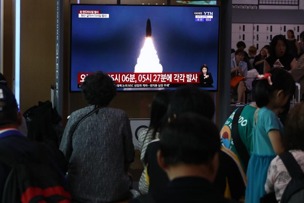 VSA haal die Noord-Korea-missiel-lanserings af