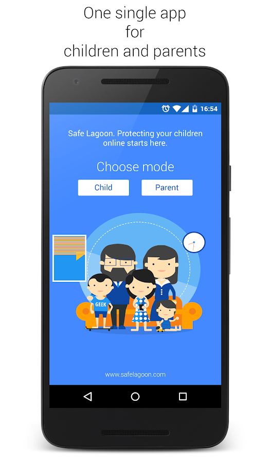 Safe Lagoon Parental Control- screenshot