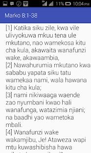 Biblia Takatifu - náhled