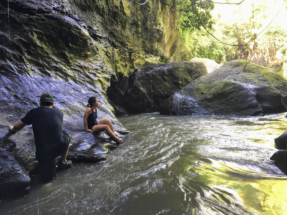 River canyoning in Bali