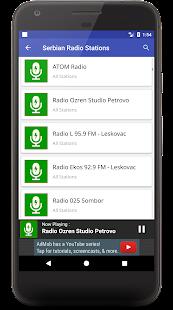 Serbian Online Radio Stations (сербское радио) - náhled