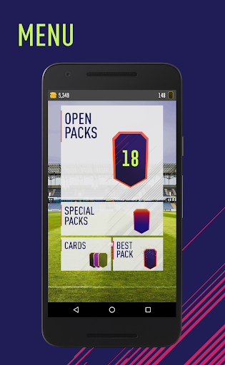 FUT 18 Pack Opener by TapSoft 4.2.5 screenshots 1