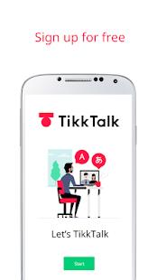 TikkTalk - náhled