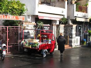 Photo: One of a dozen veggie trucks that sell in Taormina