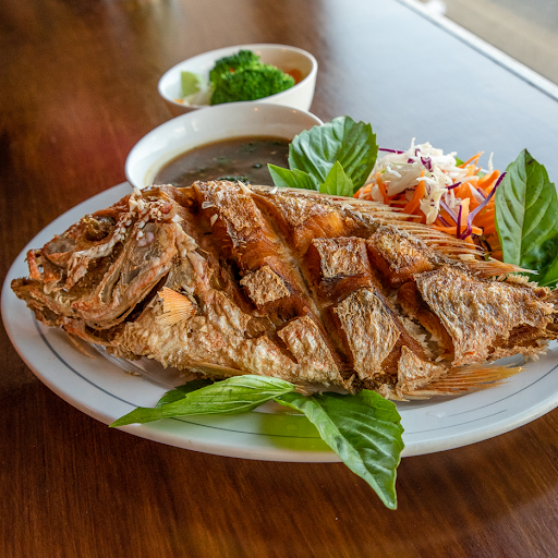 Crispy Whole Red Snapper