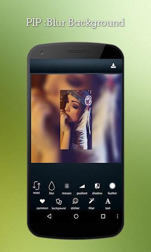 PIP Photo: Blur Background