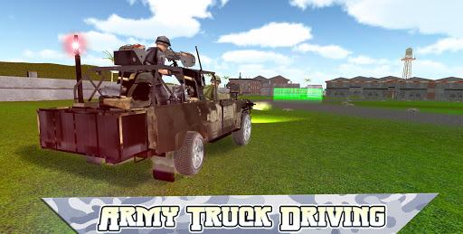 陸軍輸送トラックシミュレータ