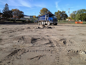 Photo: Site Elevation After PartialFill 9-30-2013