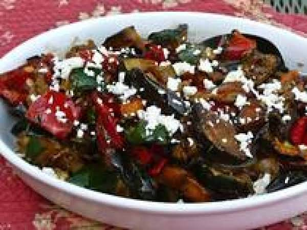 Mediterranean Grilled Vegetable Salad Recipe