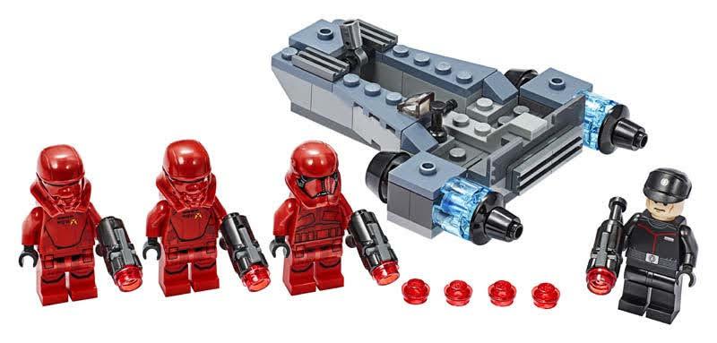 Contenido de Lego® 75266 Pack de Combate: Soldados Sith