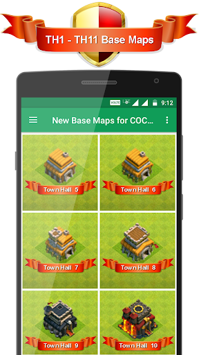 New Base Maps for COC 2017 1.0.2 screenshots 13