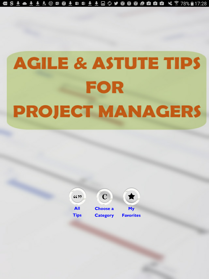 Agile Project Manager Tips- screenshot
