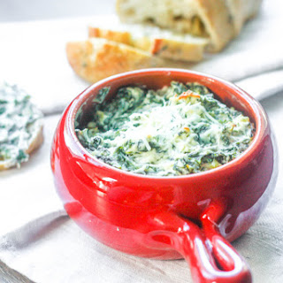 Baked Spinach Dip.