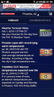 FOX 10 Weather- screenshot thumbnail