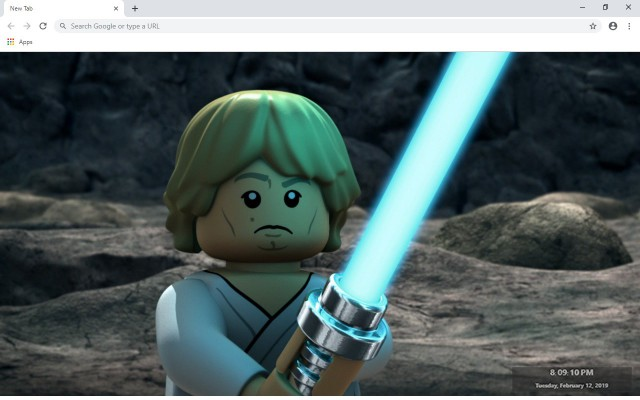 Lego Star Wars: The Complete Saga New Tab