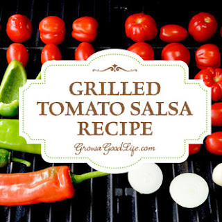 Grilled Tomato Salsa.