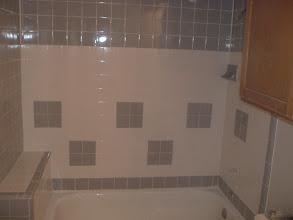 Photo: after repair around tub