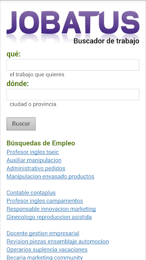 Trabajo - Empleo