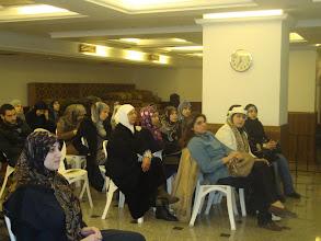 Photo: جانب من الحضور في المحاضرة التثقيفية في علم التغذية مع الإختصاصية مونيك باسيلا زعرور