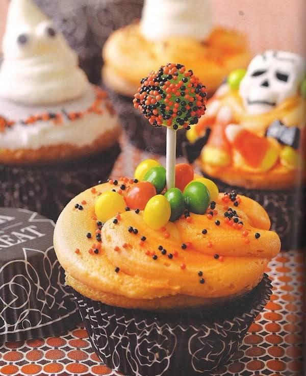 Trick Or Treat Cupcakes Recipe