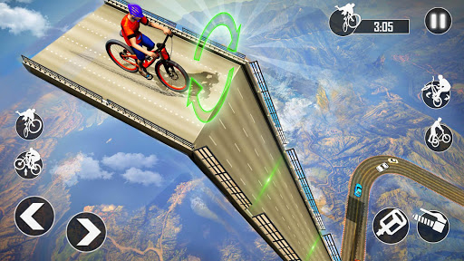 Mega Ramp BMX Bicycle Racing : Tricky Stunts 2020 filehippodl screenshot 6