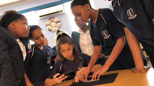 With TANKS, kids at schools that have no computers can be introduced to coding.