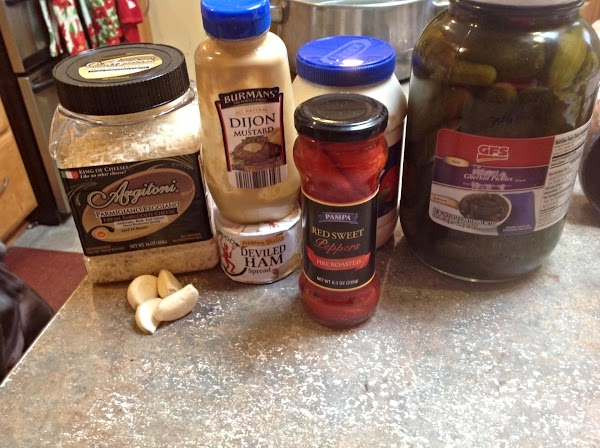 This is MOST of the main ingredients to make this recipe.