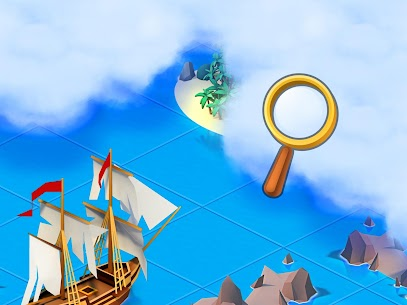 Sea Port: Build Town & Ship Cargo  MOD APK (Unlimited Gems) 5
