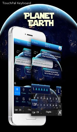 Planet Earth Keyboard Theme