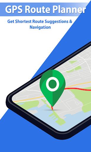 GPS Navigation Route Finder u2013 Map & Speedometer 1.0.6 screenshots 1